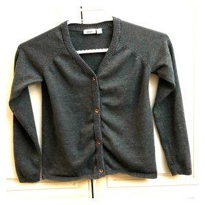 🎲2/$35 Mexx girls grey cotton cardigan
